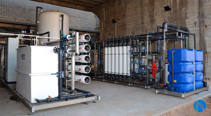 Solución global al aporte del agua en la industria química