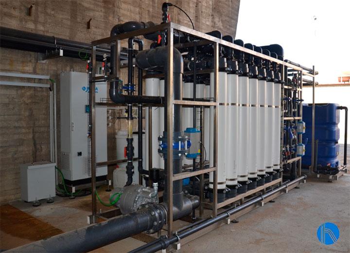 agua en la industria química