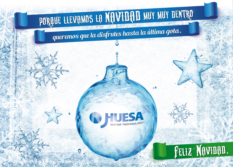J. Huesa Water Technology le desea una Feliz Navidad y un próspero año 2017