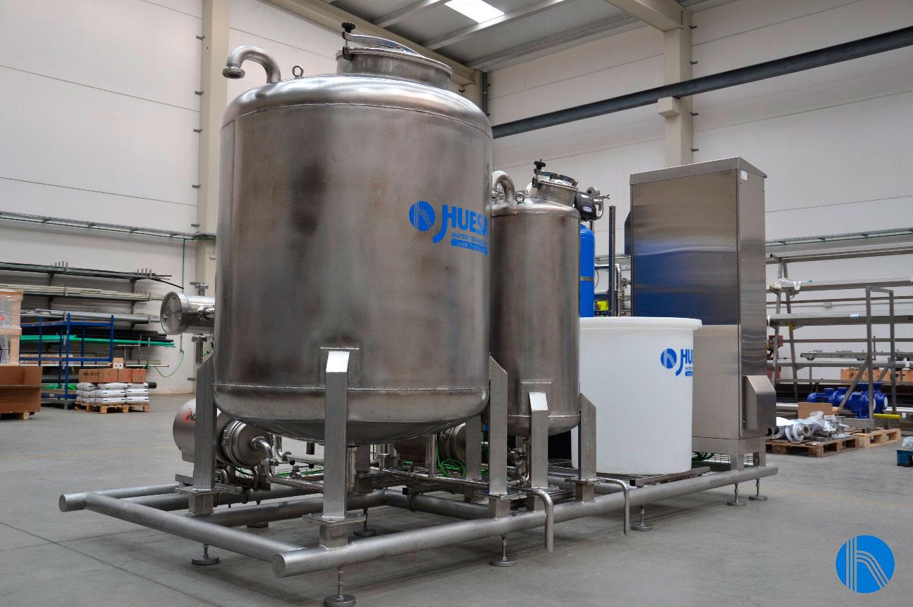 limpieza de latas tratamiento de aguas