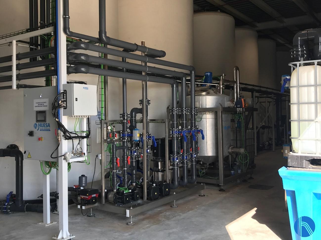 tratamiento de agua sector aeronáutico