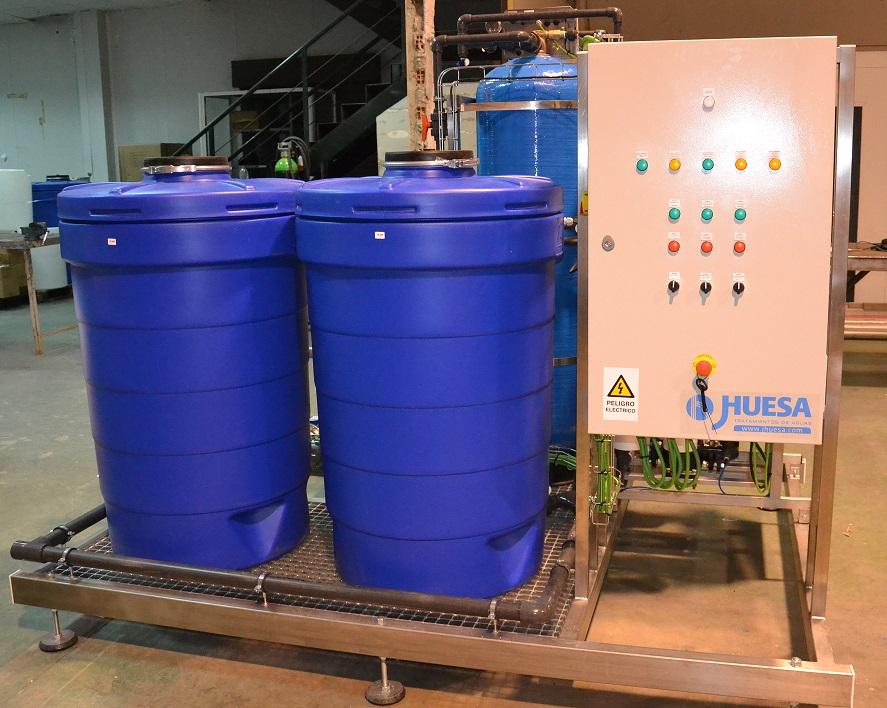 Producción de Agua Destilada en la Industria de Productos de Limpieza