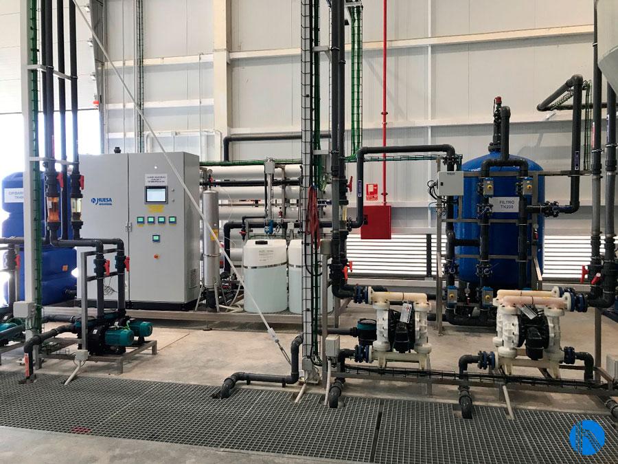 tratamiento de agua sector aeronautico