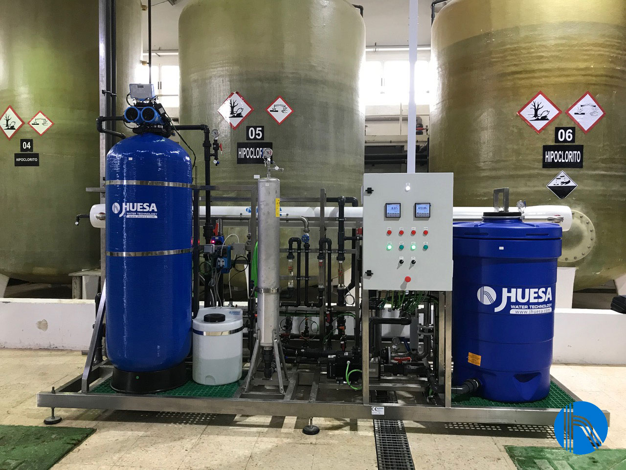 Adecuación del agua al proceso productivo de una industria de productos de limpieza nacional