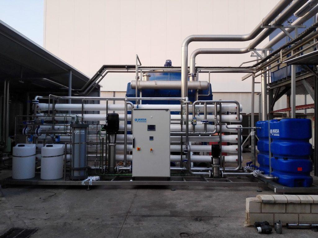 Sistema de Pretratamiento y Ósmosis Inversa para empresa de químicos