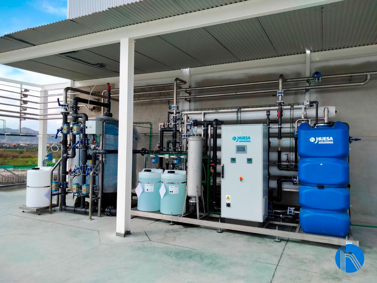 J. Huesa finaliza con éxito la puesta en marcha de una planta de tratamiento de aguas para un matadero