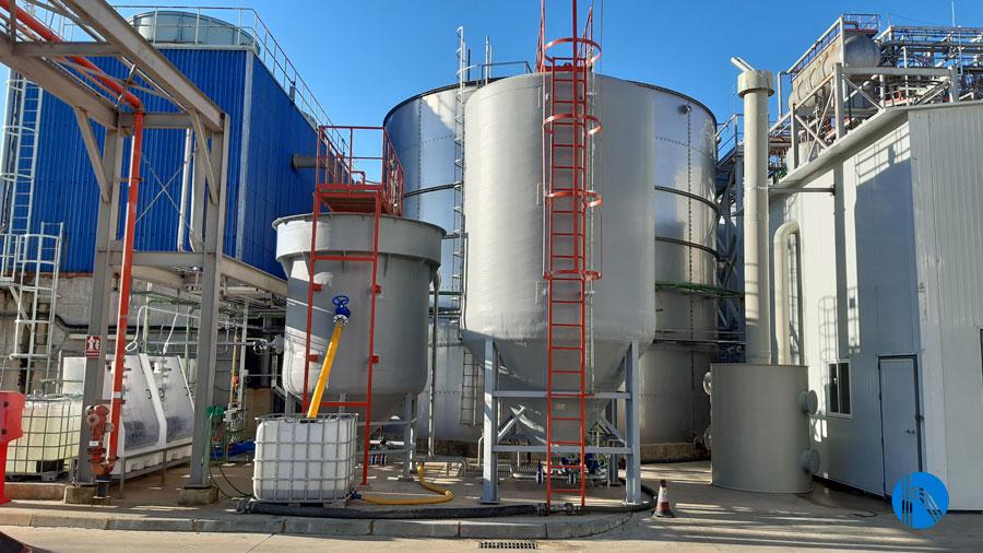 estación depuradora de aguas residuales 2