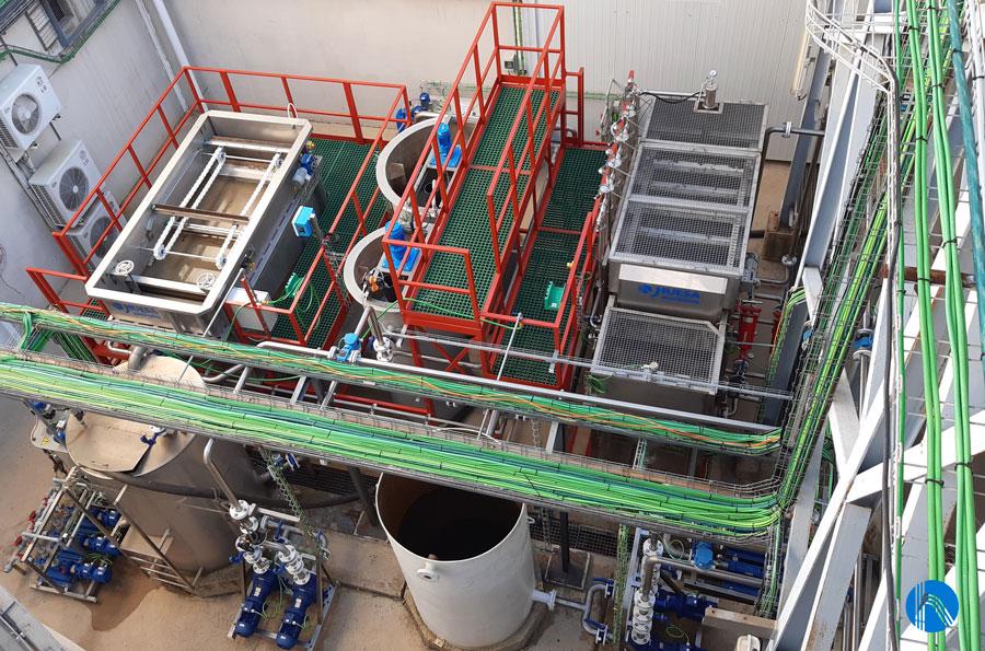 estación depuradora de aguas residuales 6